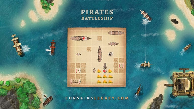 Pirates Battleship